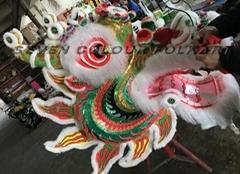 Southern dragon with ram fur and rabbit fur