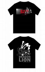 2018 new design lion dance T-shirt in