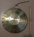 Small size gong and cymbals for dragon