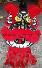 Beautiful art work Foshan lion head