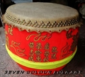 Beautiful art work drum for lion dance
