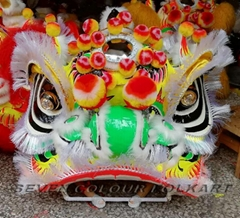 Chinese traditional lion heads