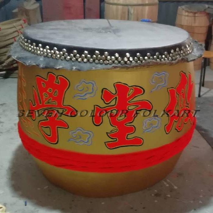 Beautiful painting drums for lion dancing 4