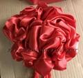 Red bow flower for lion horn