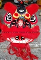 Red wool futsan lion head