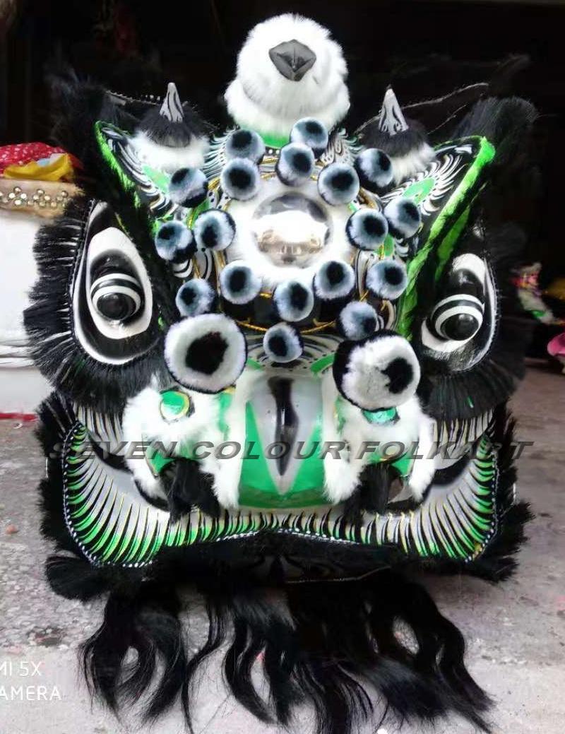Traditional lion Zhang Fei