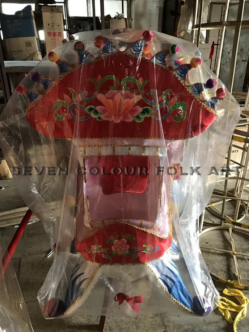 Handmade Fabric Dragon Head 3