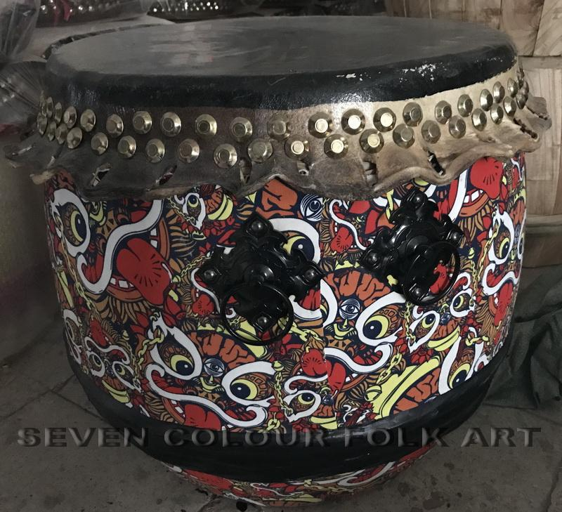 Drums with good sound and durable for lion dance 2
