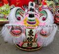 Traditional ram fur hoksan style lion head