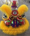 Hoksan lions with wool in yellow color