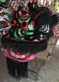 Hoksan style lion head with ram fur