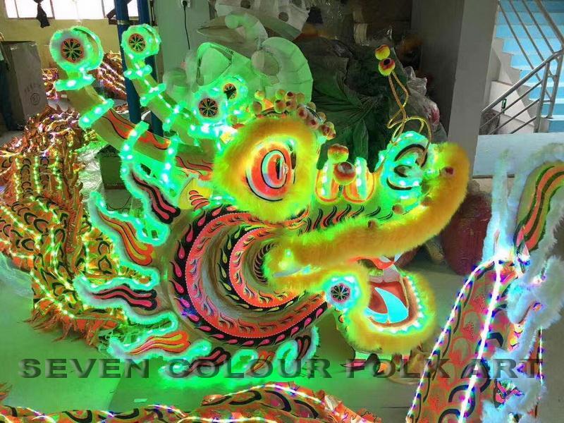 LED dragons 1