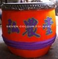 Traditional drums for lion dancing 10