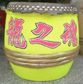 Traditional drums for lion dancing 11
