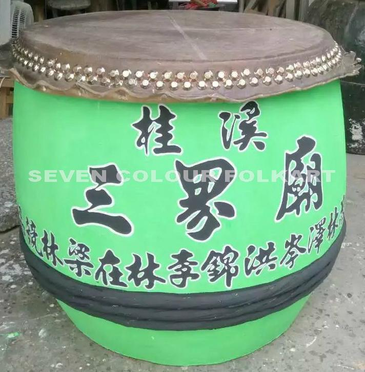 Traditional drums for lion dancing 16