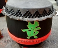 Good price of drums with black round nails for lion dancing