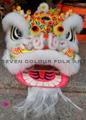 Futsan style lion head with ram fur 3