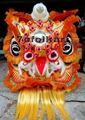 Chinese traditional lion with orange bristle