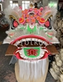 Chinese traditional lion heads with
