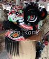 Black ram fur lion head 2
