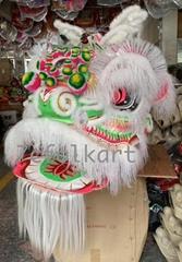 Eagle horn ram fur lion head