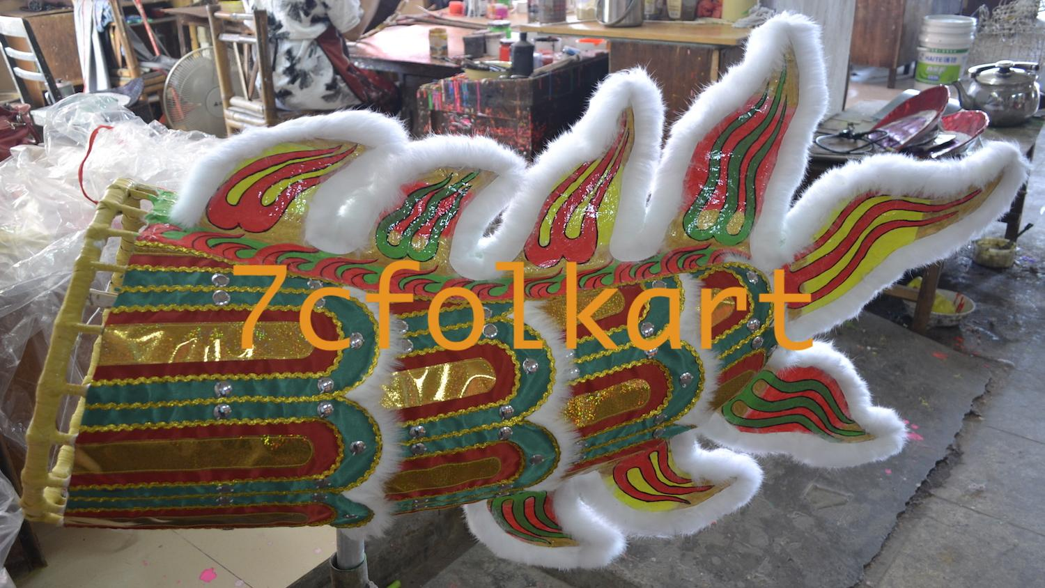 Southern dragon with ram fur and rabbit fur 5