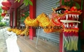 Chinese traditional dragon dance