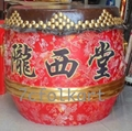 Drums for lion dancing 2