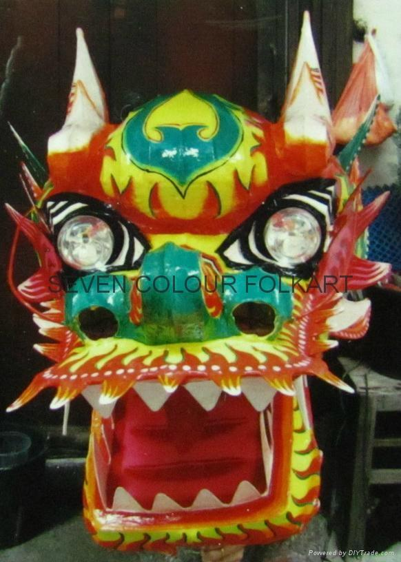 Chinese traditional dragon dance 10