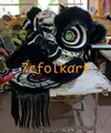 Futsan style lion heads with wool in different colors 3