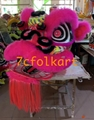 Futsan style lion heads with wool in different colors 14