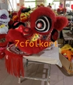 Futsan style lion heads with wool in different colors