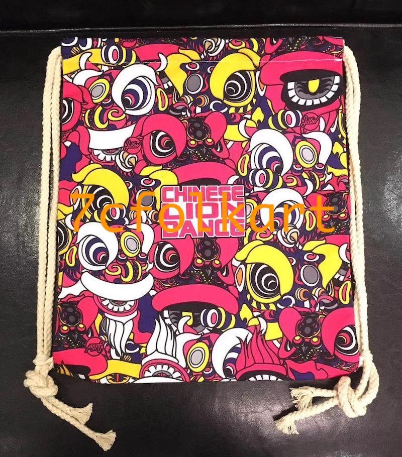 Backpacks with lion dance design 4