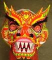 Chinese dragon dancing