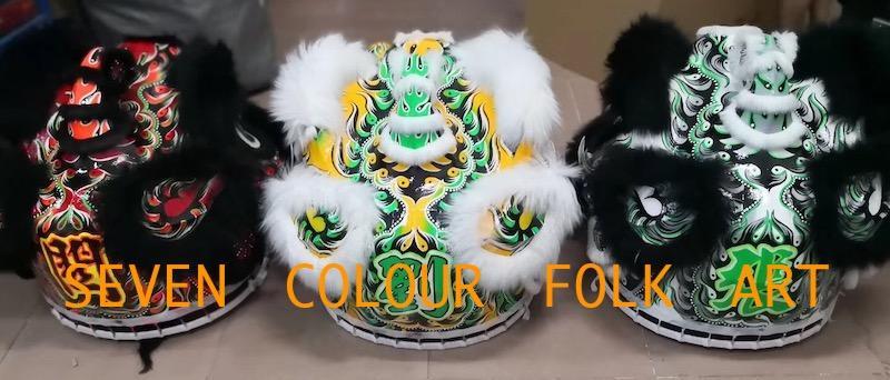 Futhok lions with sheep fur 8