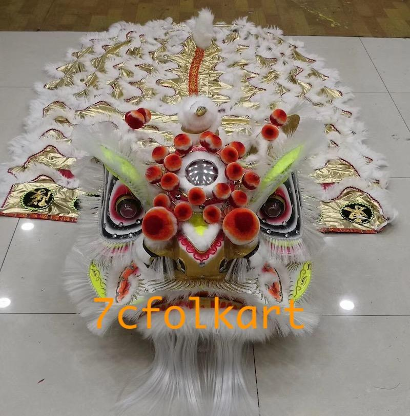Traditional lion Liu Bei with bristle 3