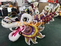 Chinese southern colorful dragon with sheep fur