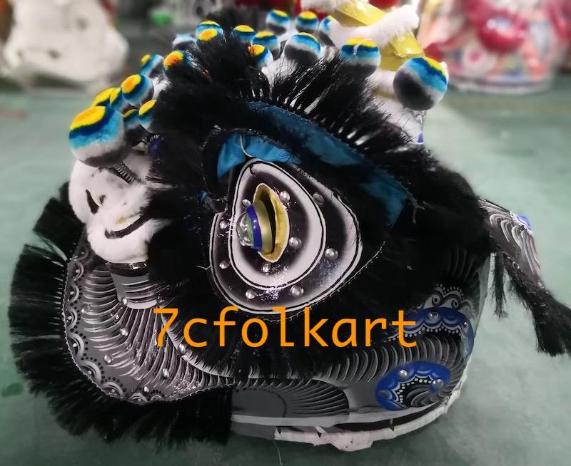 Traditional lion head with black bristle 2