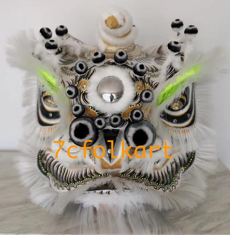 Liu Bei Lion with white bristle 1