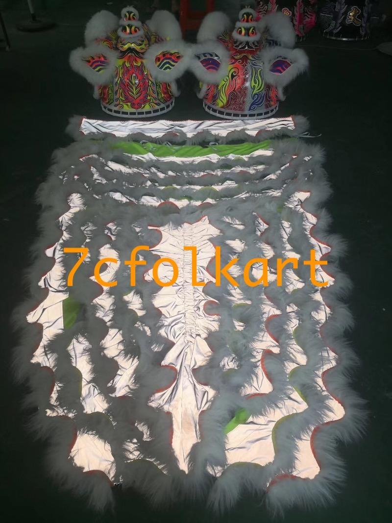Fluorescent hoksan style lions 2