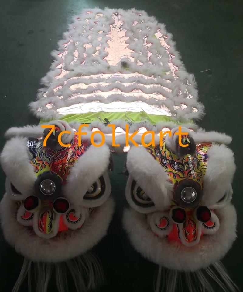 Fluorescent hoksan style lions 1