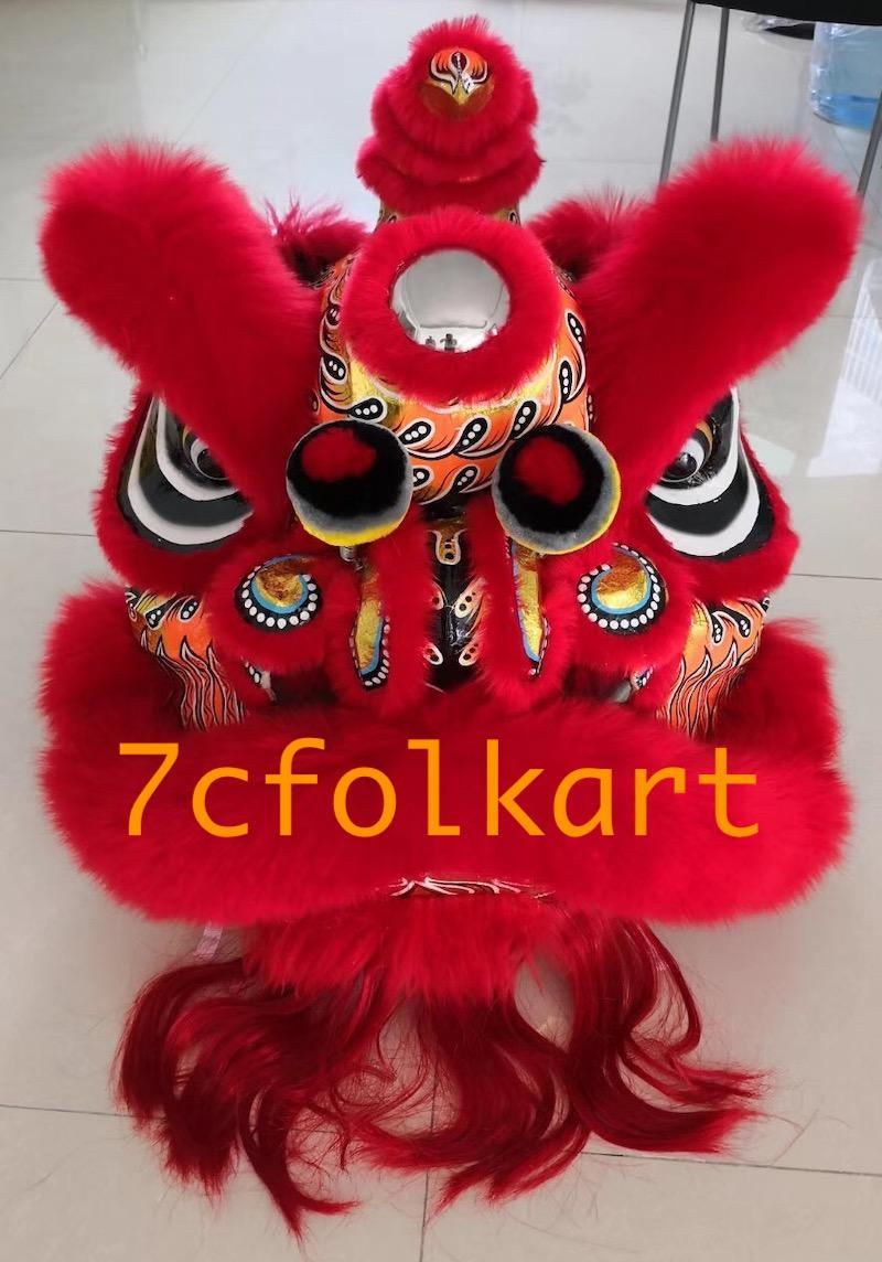 Red color Futsan lion heads 1