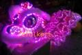 Purple LED Lion
