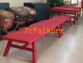Benches for lion dance 4