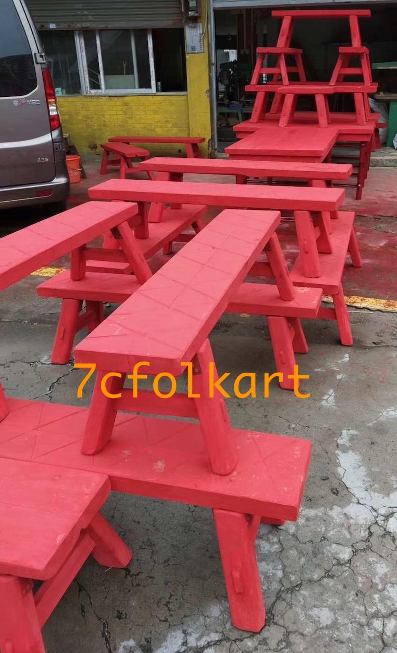 Benches for lion dance 2