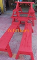 Benches for lion dance