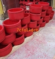 Wooden bucket for lion dancing