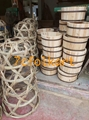Bamboo pig cage for lion dance