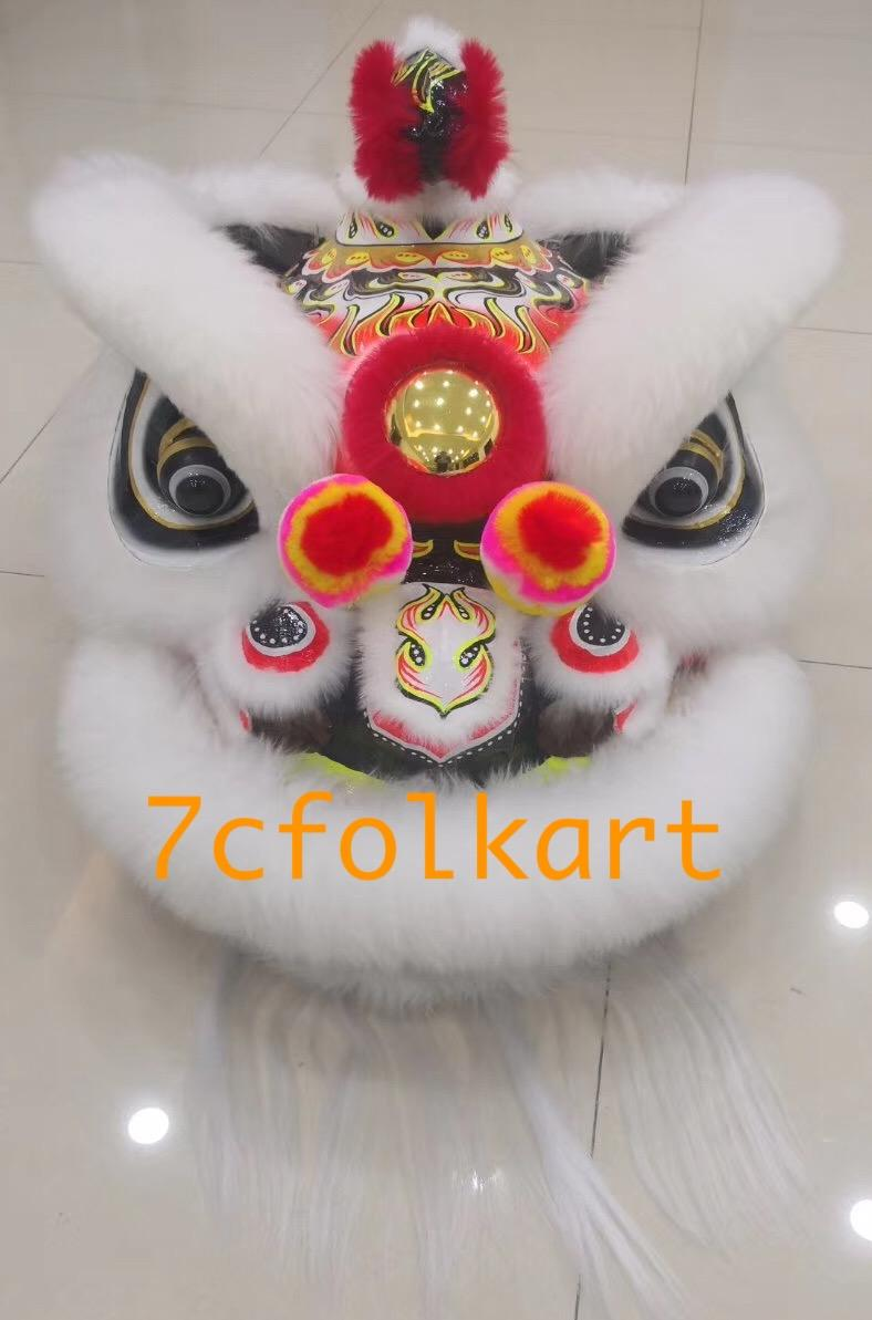 White sheep fur hoksan style lion 1