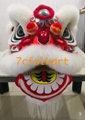 Futsan lion with white wool with beautiful painting 1